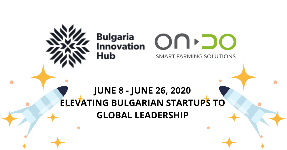 ONDO selected as one of the 16 Bulgarian startups to prepare for US expansion with Bulgaria Innovation Hub's virtual accelerator program
