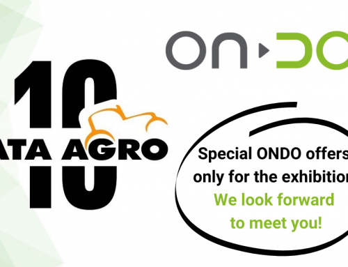 ONDO giving a free meteo station with specific configurations ordered at BATA AGRO exhibition