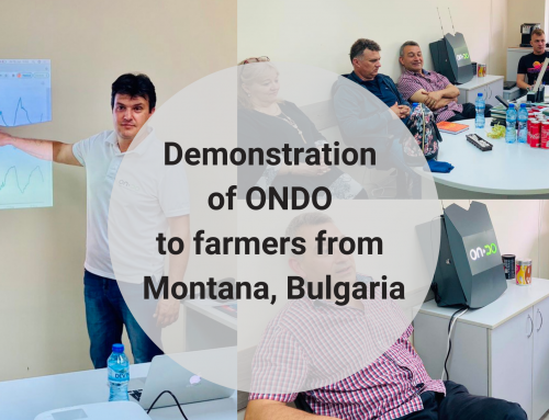 ONDO demonstrated to farmers from the region of Montana, Bulgaria