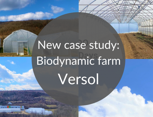In our new case study: Biodynamic farm Versol minimizes the losses resulting from human error, saves water, energy and human resources with ONDO