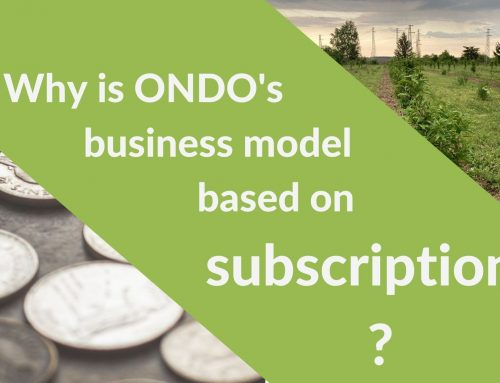 Why is ONDO's business model based on subscriptions